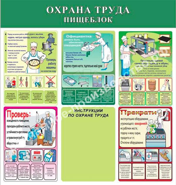 Охрана труда на предприятии в схемах